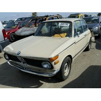 1971 BMW 2002, 2.0L, m/t, 2dr Cpe, Tan, hit rear