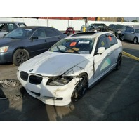 2009 BMW 335i, E90, 3.0L, a/t, Sdn, white, roll