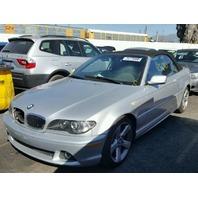 2006 BMW 325ci, E46, 2.5L, a/t, Convt, Silver, hit rh front