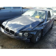 2002 BMW 530i, E39, 3.0L, a/t, Sdn, Blue, hit front