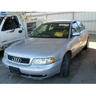 2001 Audi A4, 1.8L, m/t, Sdn, Silver, hit rear