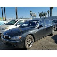 2006 BMW 750Li, E66, 4.8L a/t, Rwd, Black, hit front
