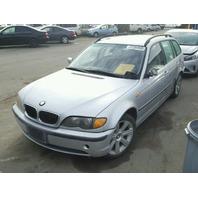 2002 BMW 325IT, E46,2.5L, a/t, s/w, Rwd, Silver, hit lh side