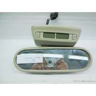 02 03 04 05 Volkswagen Beetle Inside Rear View Mirror Tan *Broken Tab 1C0857511A