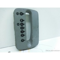 98 99 00 01 02 03 04 05 Volkswagen Beetle 4 spd shift bezel selector grey scuffs
