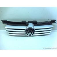 2001 2002 2003-2007 Volkswagen Jetta Upper Radiator Grille Silver 1J5853655C