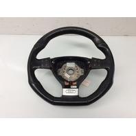 2006 Volkswagen Jetta Black Leather 3 Spoke Steering Wheel 1K0419091BC