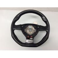 2006 2007 2008 2009 Volkswagen Rabbit GTI 3 Spoke Black Leather Steering Wheel