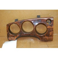 01 02 Jaguar Xk8 Speedometer Speedo Bezel Wood Trim Broken Tabs