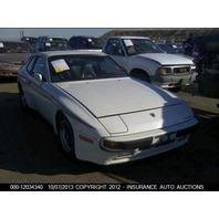 83 84 85 Porsche 924 944 Front Door Panel Complete Right