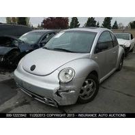 98 99 00 01 02 03 Volkswagen Beetle Inside Rear View Mirror Broke Plug