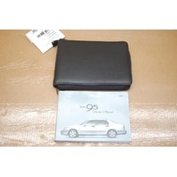 01 Saab 9-5 Owners Manual
