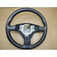 00 01 02 03 04 05 06 Audi Tt 3 Spoke Steering Wheel Black 8N0419091B