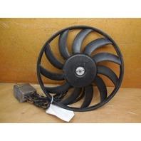 03 04 05 06 Audi A4 Convertible Radiator Fan Motor Only Left Large Module Bad