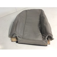 05 06 07 Volvo S40 right front upper seat cover grey 39894566 used condition