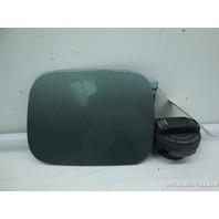 01 02 03 04 Audi A6 Allroad Fuel Filler Gas Door Green Small Dent 4B0809905A