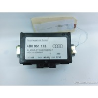 Audi A4 A6 S6 Theft Alarm Control Module Computer 4B0951173