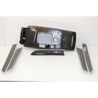 2005 2006 - 2010 2011 Audi A6 S6 Interior Carbon Fiber Trim Set 4F1864261Q
