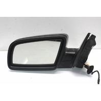 2009 BMW 550i Sedan Left Side View Door Mirror Black 51167189685