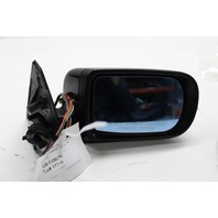 BMW 740i 750i Right Passenger door Mirror Black, Scratched 51168165122