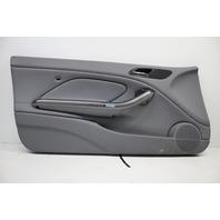 2001 2002 2003 2004 2005 2006 BMW M3 E46 Left Front Door Panel Grey 51417894463