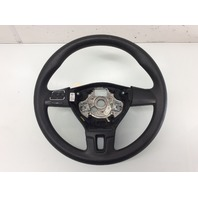 2012 2013 2014 2015 Volkswagen Passat Black Leather 3 Spoke Steering Wheel