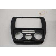 2012 2013 2014 Volkswagen Jetta Center Dash Radio Trim Bezel Black 5C6858069