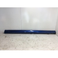 2013 Volkswagen Golf R right rocker moulding side skirt blue torn tab pry marks