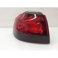 2010 - 2014 Volkswagen Golf GTI Hatchback Left Outer Smoked Tail Light 5K0945257