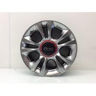 2012 - 2015 Fiat 500 16 x 6.5 Inch 5 Double Spoke Wheel 5LS02TRMAA Scratches
