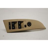BMW 525i 530i 545i M5 Left Driver Master Window Switch Tan 61316951905