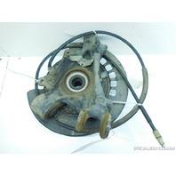03 04 05 06 Porsche Cayenne right rear spindle knuckle hub 7L0505436B