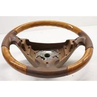 2003 2004 2005 2006 Porsche Cayenne Savanna / Wood Steering Wheel 7L5419091M