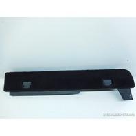 03 04 05 06 Porsche Cayenne seat lower carpet trim black 7L5863528G