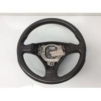 2003 2004 2005 Audi A4 3 Spoke Grey Leather Steering Wheel 8E0419091AS