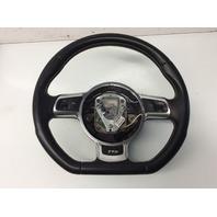 2011 2012 2013 Audi TT S steering wheel 3 spoke flat bottom 8J0419091L