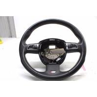 2010 2011 2012 Audi S4 B8 Sedan 3 Spoke Steering Wheel Leather Multifunction