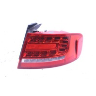 2009 2010 2011 2012 Audi A4 S4 Sedan Right Outter LED Tail Light Lamp 8K5945096L
