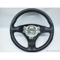 2000 2001 2002 2003 2004 Audi TT Steering Wheel Black 3 Spoke Worn 8N0419091B