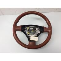 2001 2002 - 2004 2005 2006 Audi TT Red Leather 3 Spoke Steering Wheel 8N0419091B