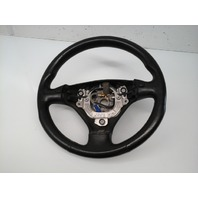 2003 2004 Audi TT Leather 3 Spoke Steering Wheel 8N0419091C Worn
