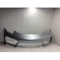 2014 2015 Porsche Cayman front bumper 98150501061 silver has small crack