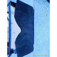97 98 99 00 01 02 03 04 Porsche Boxster rear trunk liner carpet black 98655103501
