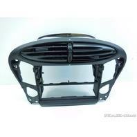00 01 Porsche Boxster center dash air vent radio stereo bracket 98655213106