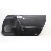 Porsche Boxster Cayman 987 Front Right Passenger Door Panel Black, Handle Scuffs