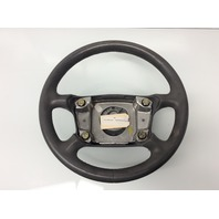 2002 2003 2004 Porsche 911 Carrera 4S Grey Leather Steering Wheel 99334780456
