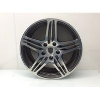 2007 2008 2009 2012 Porsche 911 19 x 8 Inch 5 Spoke Wheel 99736215602 Scratches