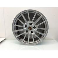 2005 - 2012 Porsche Boxster 19 x 8 Inch Front Wheel 99736215604 Rim lip Damage