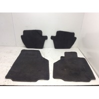 1999 2000 2001 2002 2003 2004 Porsche 911 996 floor mat carpet set left is Worn