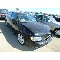 2004 Audi A4 Avant wagon 3.0 6 speed black damaged front for parts